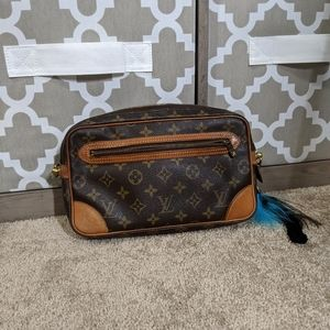 Louis Vuitton Marly Dragonne Converted Clutch